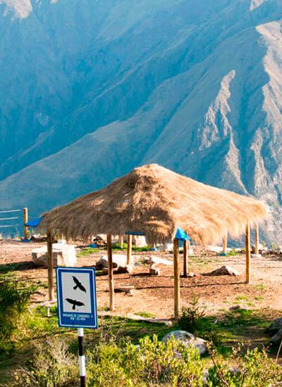 The Cóndor Viewpoint of Chonta Cusco
