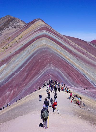 Rainbow Mountain / Red Valley trek 1 Day