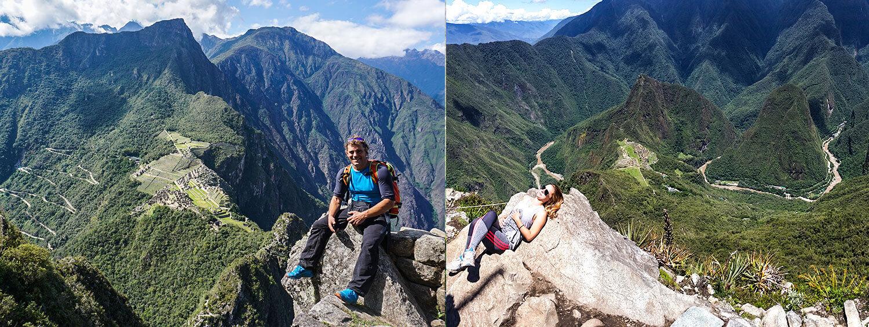 climb up to Huayna Picchu